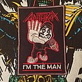 Anthrax - I'm the Man Patch