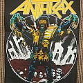 Anthrax - Patch - Anthrax - Judge Death BP