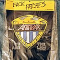 Anthrax - We Are the Law Back Patch