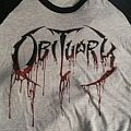 Obituary - TShirt or Longsleeve - Obituary Tour Baseball Shirt