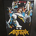 Anthrax - Patch - Anthrax - Spreading the Disease Back Patch