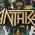Anthrax Back Shape Patch