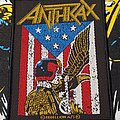 Anthrax - Patch - Anthrax - Judge Dredd patch