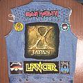 X Japan - Battle Jacket - Beginnings of a battlejacket