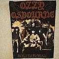 1989 Ozzy Osbourne Back Patch