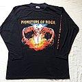 1992 Monsters of Rock LS TShirt or Longsleeve