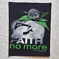 1993 Faith No More Back Patch