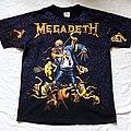 1991 Megadeth Tee TShirt or Longsleeve