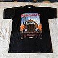 1993 Iron Maiden Tour T-Shirt