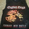 ENGLISH DOGS 2012 Forward Into Battle 2012 US Tour Shirt