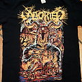 Aborted - hell over europe tour shirt