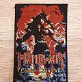 Manowar - Patch - Manowar louder  than hell