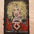 Twisted sister vintage patch