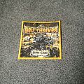 Bolt Thrower - Realm of Chaos Yellow Border Patch