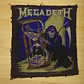 Orginal woven 1994 MEGADETH patch