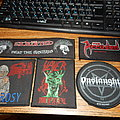 Death - Patch - New pack of woven patches from blacksmithprods.com