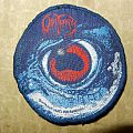Obituary - Cause of death original woven patch