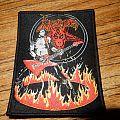 Venom - Patch - Venom - Cronos on fire woven patch