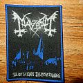 Mayhem - Patch - Mayhem - De Mysteriis Dom Sathanas woven patch