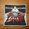 Sodom - Obsessed by cruelty rubber patch