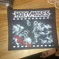 Holy Moses - Finished With The Dogs woven patch (boot)
