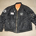Metal punk MA1-bomber jacket
