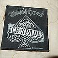 Motörhead - Patch - Motorhead - Ace of spades woven patch