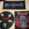Pack of vintage death metal goodies from my frined MetalHeadRu Patch