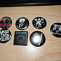 Goodies from Headnoise records (badges) Pin / Badge