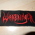 Warbringer embroidered patch