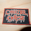 Cannibal Corpse logo rubber patch