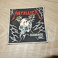 Metallica - Patch - Metallica - Damage inc. rubber patch