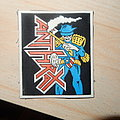 Anthrax vintage rubber patch