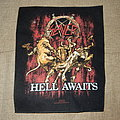 Slayer - hell awaits backpatch