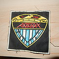 Anthrax - police badge rubber patch