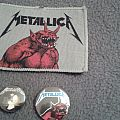 Metallica - Jump In The Fire Original Patch With Pins