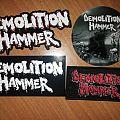 Demolition Hammer Merchandising Patch