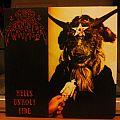 Nunslaughter _ Hell's Unholy Fire LP Tape / Vinyl / CD / Recording etc
