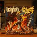 Mayhem - Burned Alive lp Tape / Vinyl / CD / Recording etc