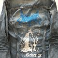 Old Levi's Jeans Jacket With Unleashed Backprint