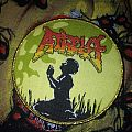 Atheist woven patch