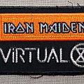 Iron Maiden - Patch - Iron Maiden - Virtual XI vintage patch