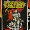 Woven Kreator Patch
