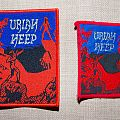 Uriah Heep - Patch - Uriah Heep - Magician's Birthday Patch comparison