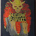 Nuclear Assault Survive vintage patch