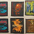 Vintage Sepultura Patches