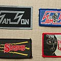 Vintage Samson Patches