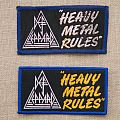 Def Leppard - Heavy Metal Rules Patch comparision