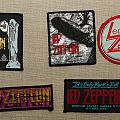 Vintage Led Zeppelin patches