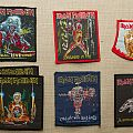 Vintage Iron Maiden patches